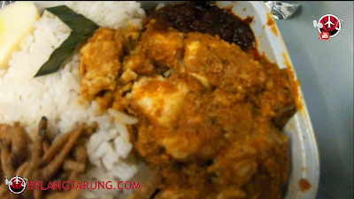 Rendang Ayam Nasi Lemak