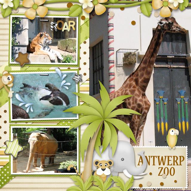 Safari Adventure and Made By Keuntje Template