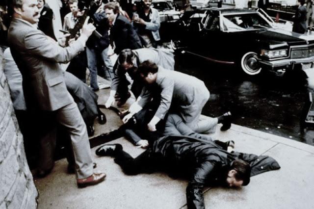 30 maret 1981 Ronald Reagan Presiden Amerika Serikat Ditembak