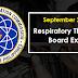 September 2021 Respiratory Therapist Board Exam Result