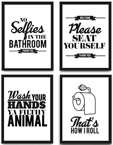 FUNNY BATHROOM SAYINGS FOR CRAFTERS