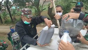 Sektor 7 Satgas Citarum Harum Laksanakan Fermentasi BIOS 44 Kepada Anggota Baru Dan Warga Desa Bojong Malaka