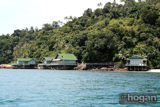 Beach Villas at Pulau Rawa Island