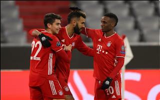 Bayern Munich and Lokomotiv Moscow