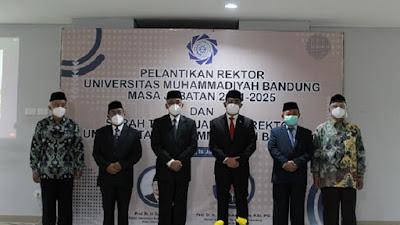 Resmi! Prof Herry Suhardiyanto Rektor UMBandung Periode 2021-2025