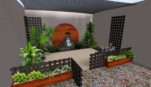 10 Ideas Grandes Para Jardines Pequenos Disenos De Jardines - Decoracion-jardines-pequeos