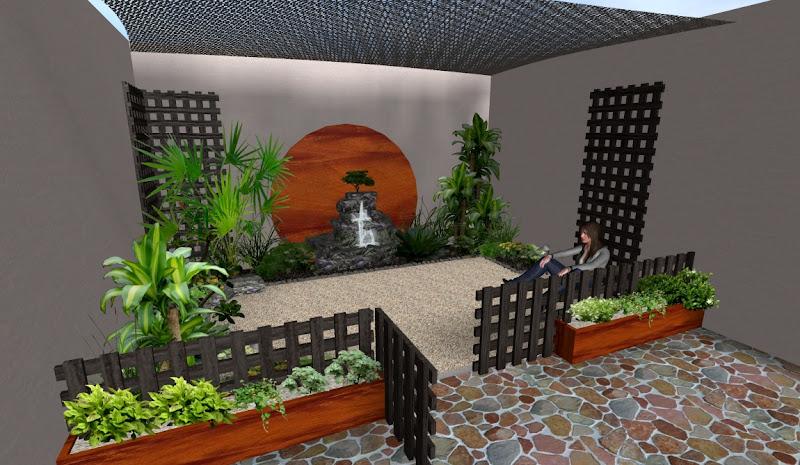 Arreglos Adornos Y Decoraciones Para Jardines Ideas Disenos 3d - Patios-jardines-pequeos