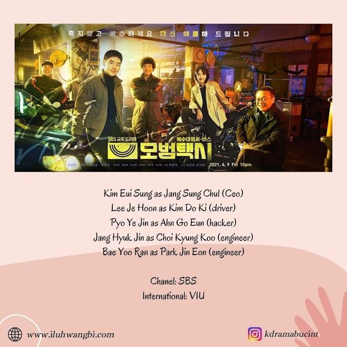 Balas Dendam Bersama Lee Je Hoon Taxi Driver (2021)