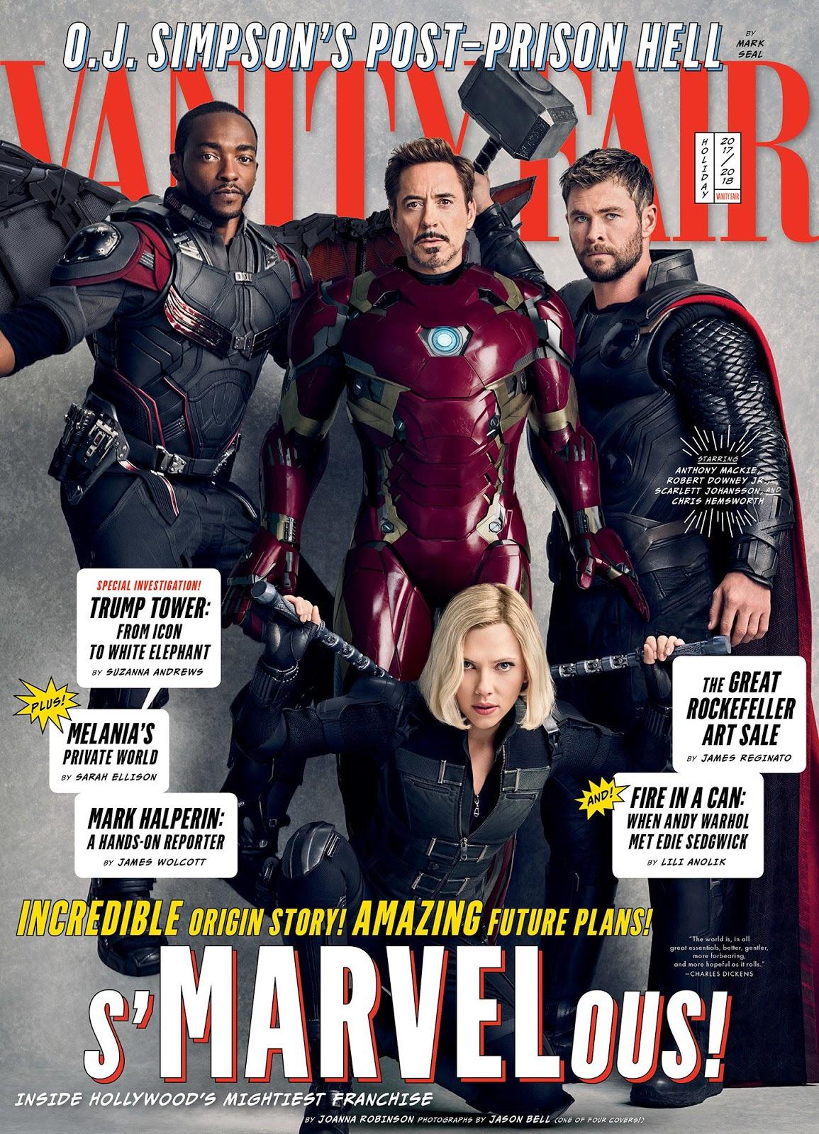 Vanity Fair 2017 Marvel Cover 1