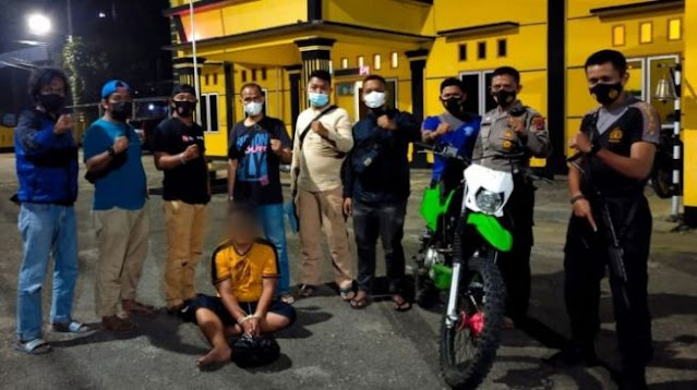 Polisi Gadungan Pura-pura Beli Motor di Sawahlunto, Ternyata Maling