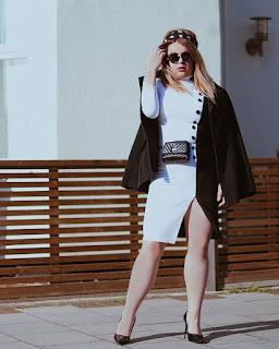 A especialista em moda e fundadora do portal As Tagarelas, Domenique Heidy