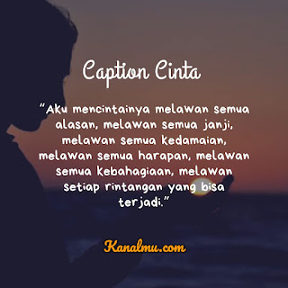 Caption Cinta Bikin Baper