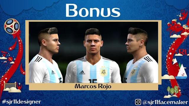 World Cup 2018 Facepack PES 2013