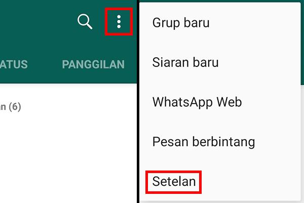 WhatsApp Mode Gelap