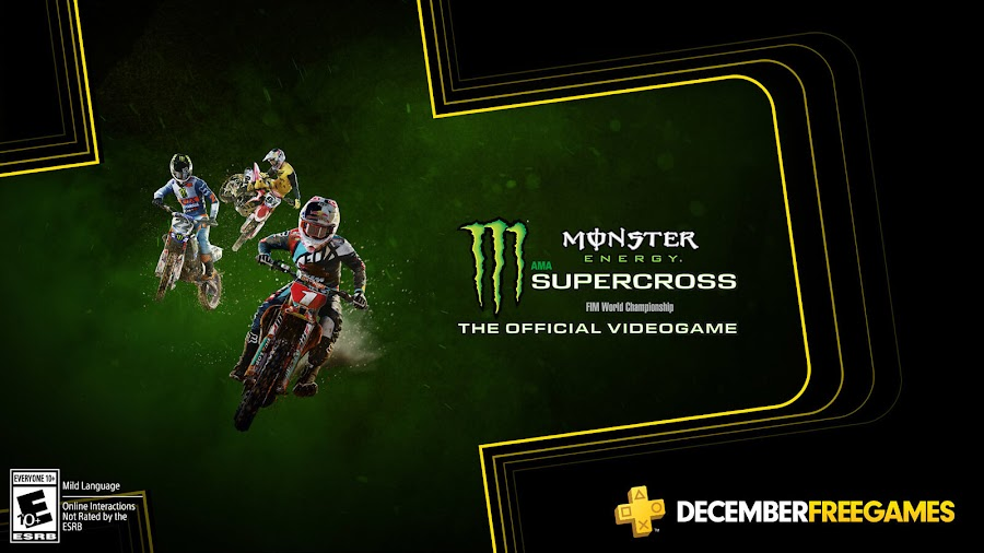 monster energy supercross the official videogame ps4 plus sony milestone srl
