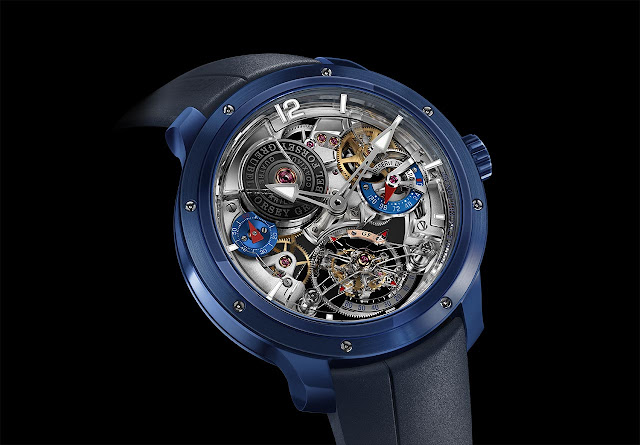 Greubel Forsey Double Tourbillon 30° Technique in Ceramic