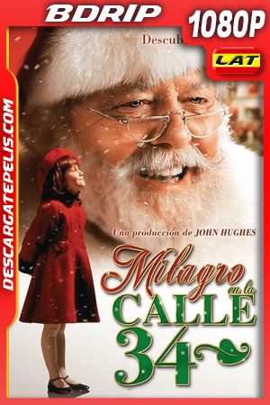 Milagro en la Calle 34 (1994) FULL HD 1080p BDRip Latino – Ingles