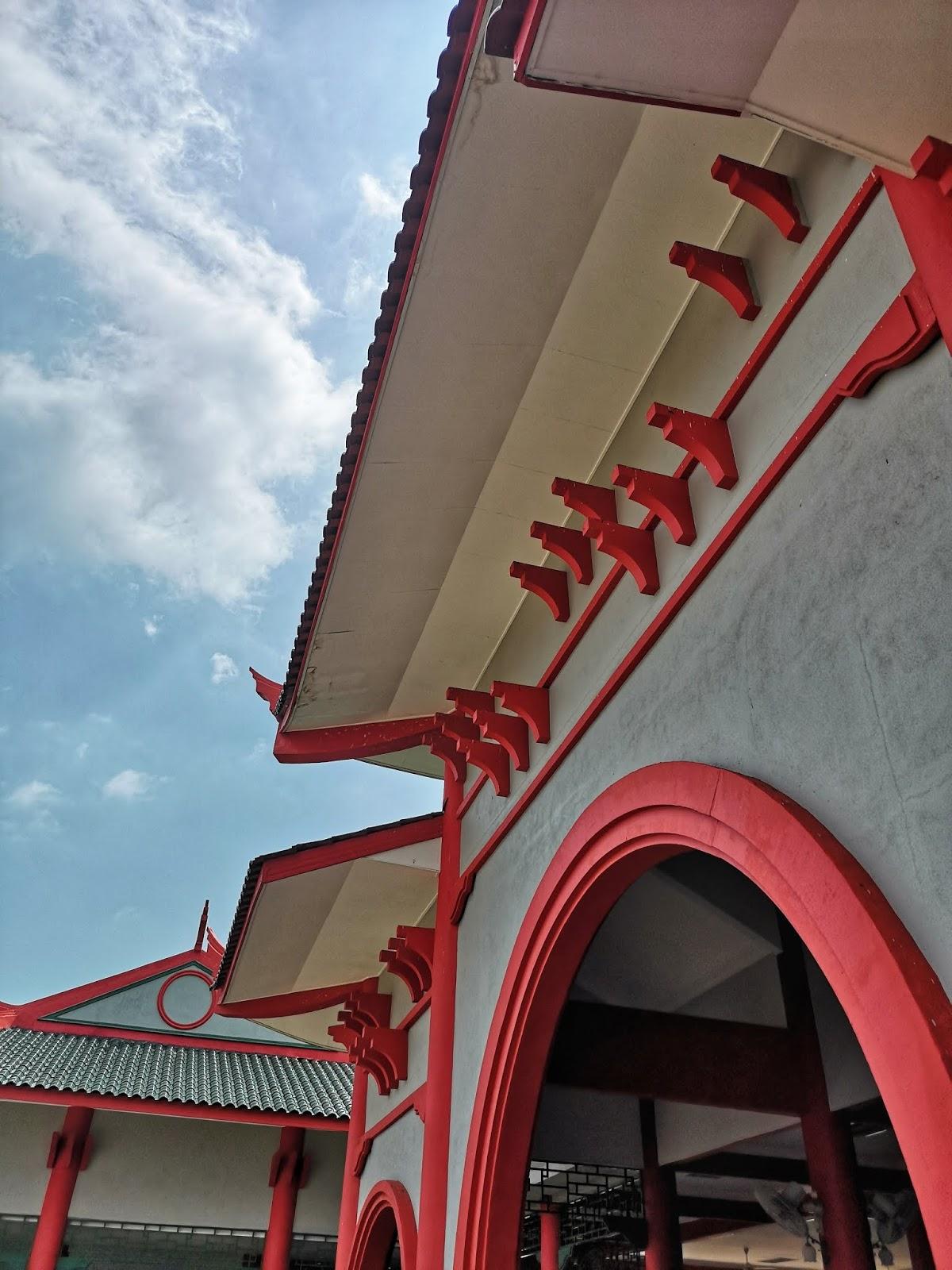Rekabentuk binaan Masjid Cina Krubong, Melaka