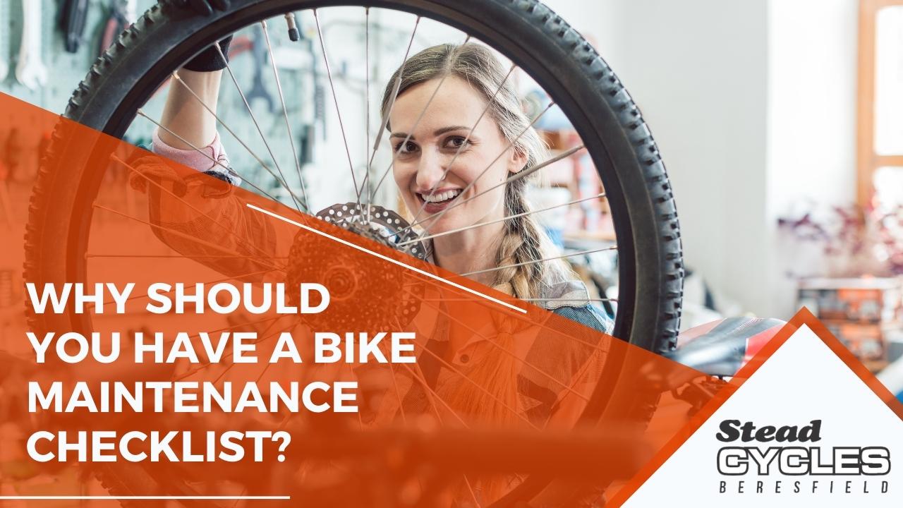 bike maintenance checklist
