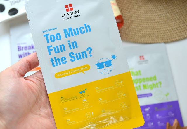 Leaders in Solution Daily Wonders Mask Too Much Fun in the Sun