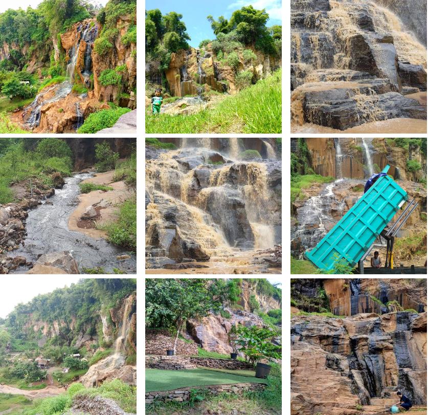 Air Terjun Eksotik Curug Batu Tempek Bandung