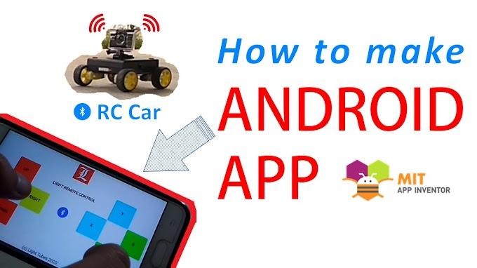 Membuat Android App Bluetooth RC Car dengan MIT App Inventor