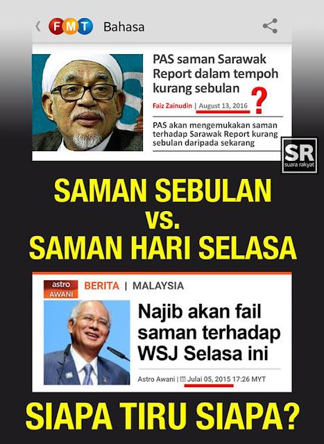 Image result for najib - ingat dak saya nak saman sarawak report hari selasa