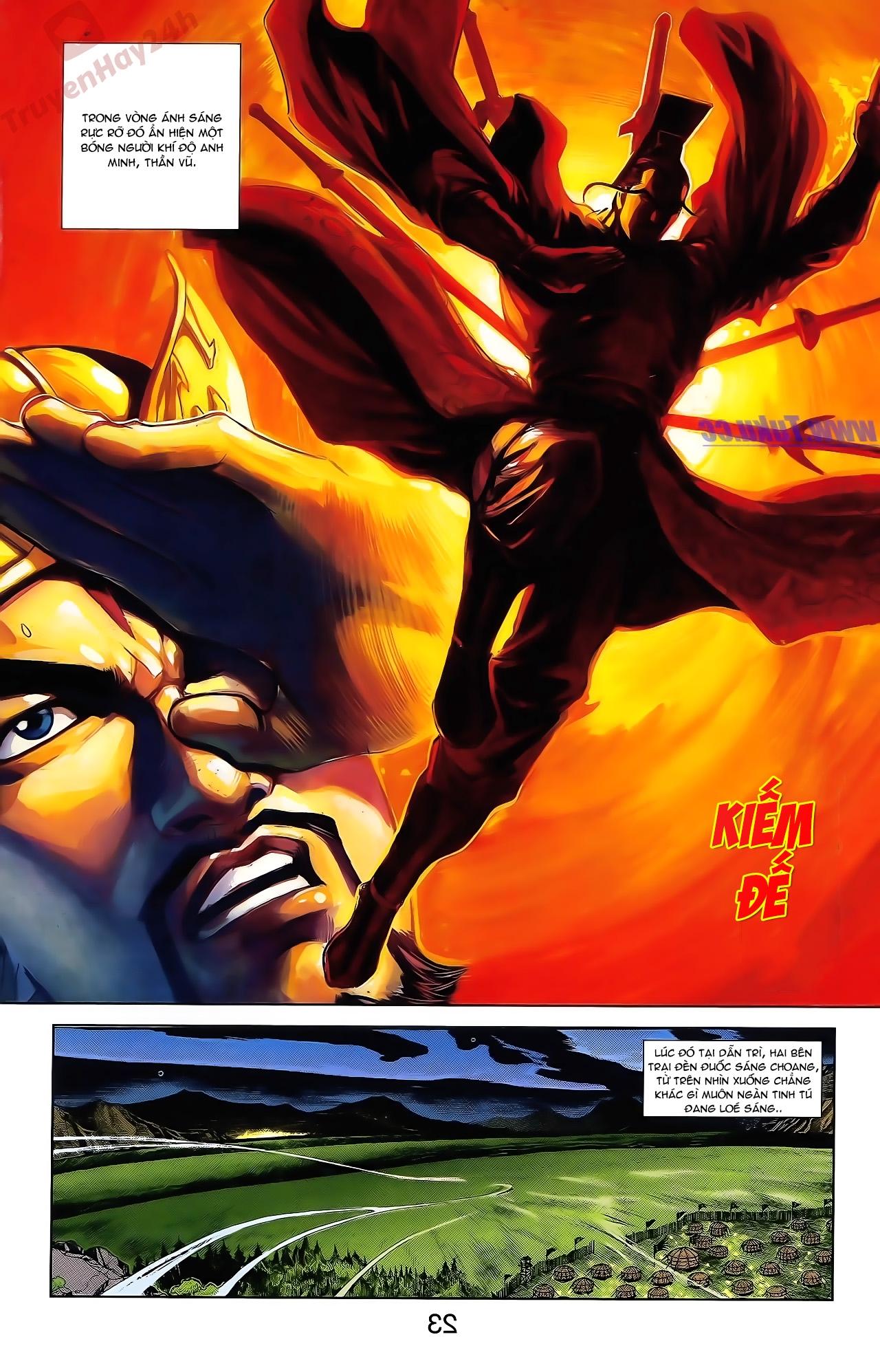 Tần Vương Doanh Chính chapter 48 trang 9