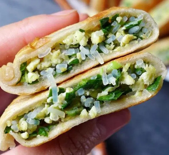CHINESE CHIVE POCKETS (韭菜盒子) #vegetarian #appetizers