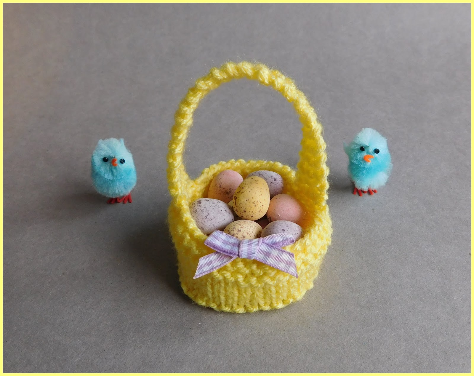 Mariannas lazy daisy days sweet little easter baskets easter basket negle Gallery