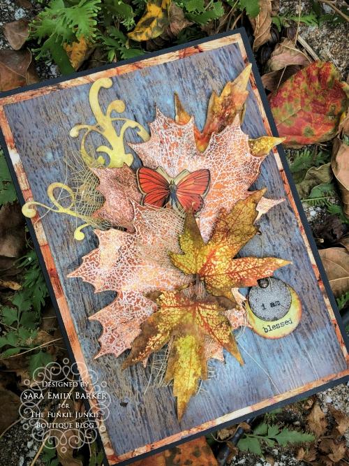 Sara Emily Barker https://sarascloset1.blogspot.com/2019/10/fall-cards-and-treat-bag-featuring-tim.html Fall Cards/Treat Bag Pressed Foliage 2