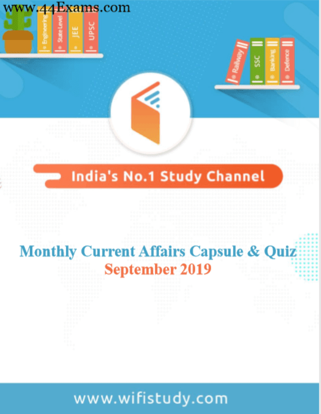 Wifistudy-Current-Affairs-September-2019-For-All-Competitive-Exam-PDF-Book