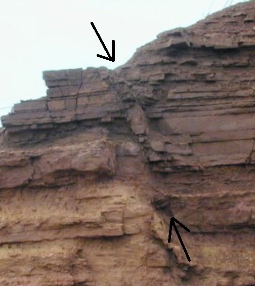 Normal faulting in Arizona