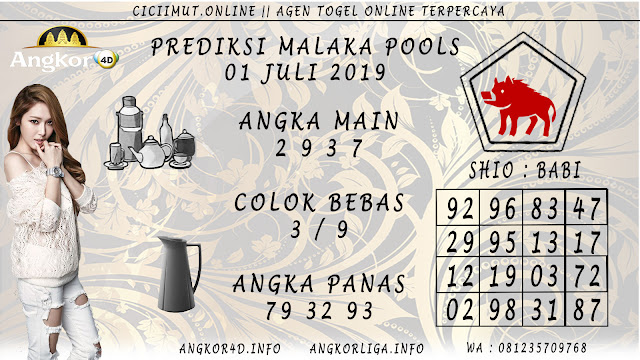 PREDIKSI MALAKA POOLS 01 JULI 2019