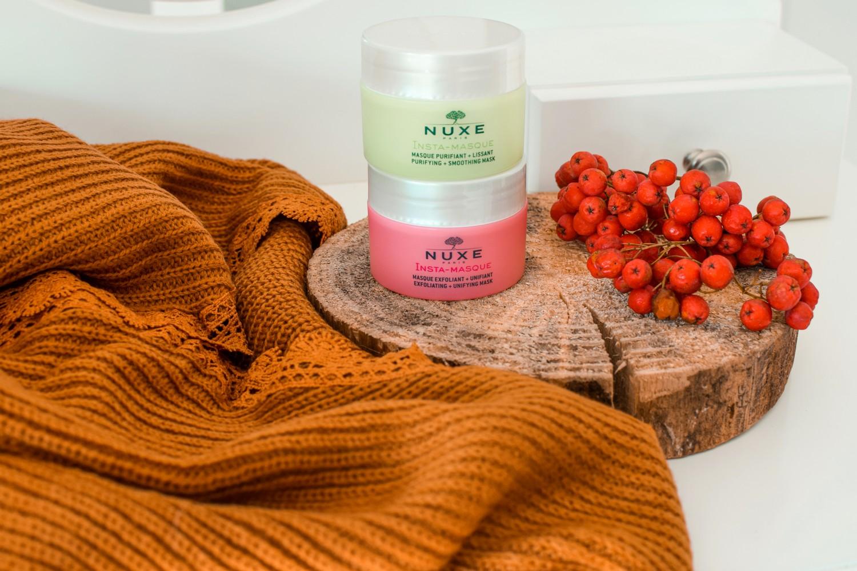 Insta-Masque maseczka oczyszczająco - złuszczająca do ujednolicenia kolorytu skóry Nuxe