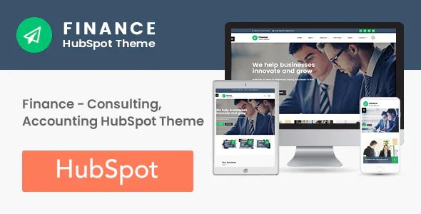 Best Consulting, Accounting HubSpot Theme