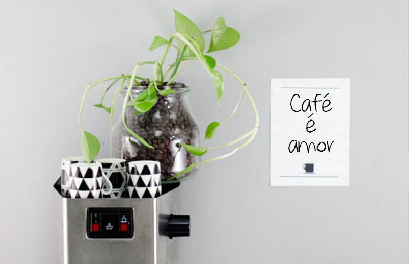 grão de café + plantas funcionaaa sim