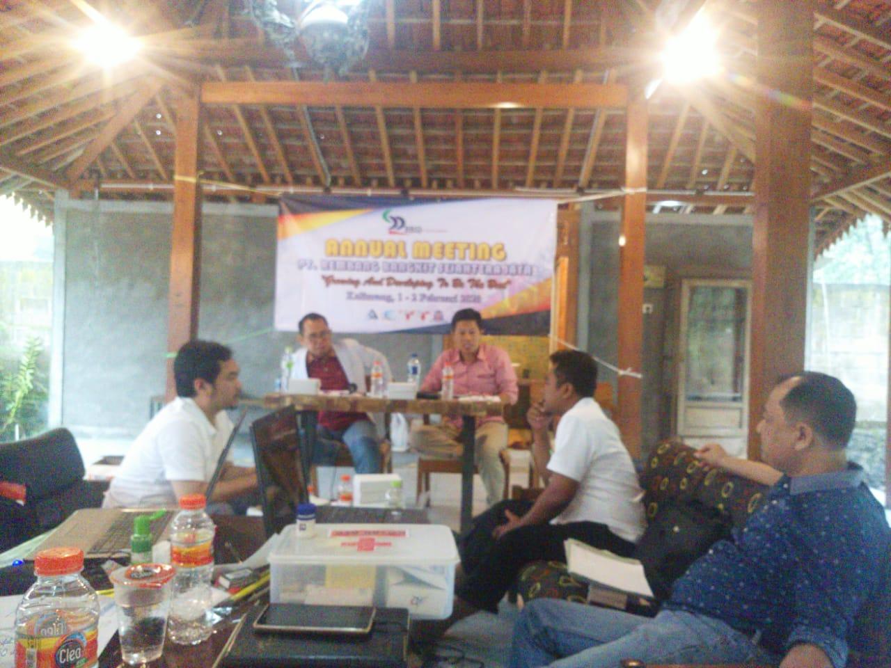 Gambar foto saat annual metting PT Rembang Bangkit Sejahtera Jaya