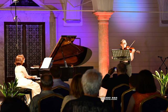 30ο Φεστιβάλ Ναυπλίου: Ρεσιτάλ για βιολί και πιάνο με τιμώμενη χώρα την Αυστρία