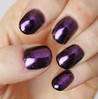 Nurbesten - Chameleon Mirror Nails Nr. 682 Born Pretty Store, Nail Art, Design, Purple