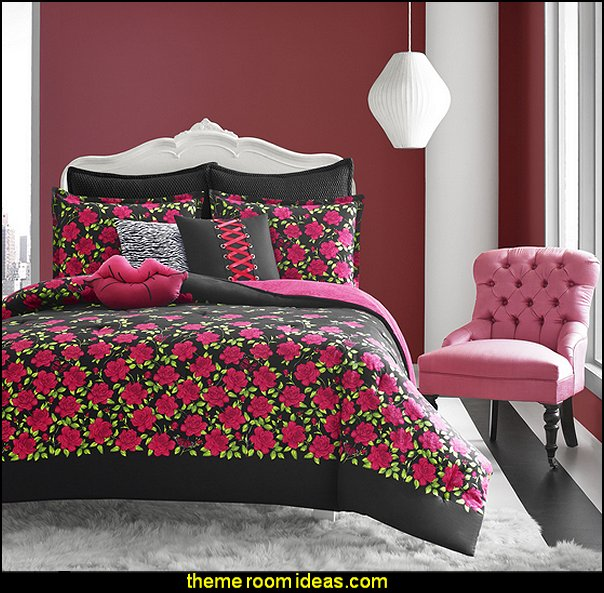Betsey Johnson Rose Garden bedding