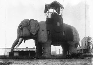 Fotografía del original Hotel Elefante Lucy