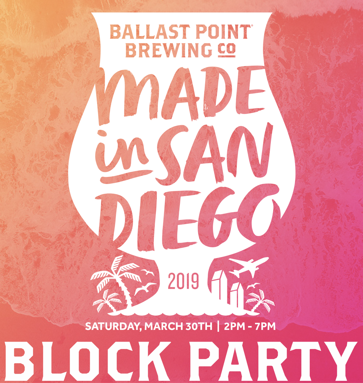 Enter to win tasting tickets to the Made In San Diego Block Party - March 30!