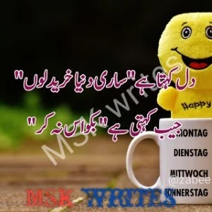 Funny Urdu Poetry For Students