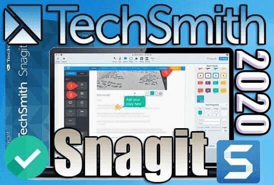تحميل وتفعيل برنامج SnagIt 2020 عملاق تصوير الشاشة وعمل الشروحات الاحترافية على الصور