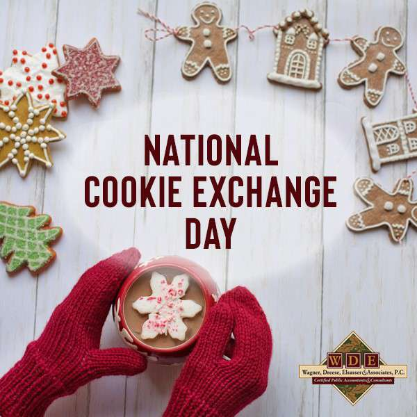 National Cookie Exchange Day Wishes Beautiful Image