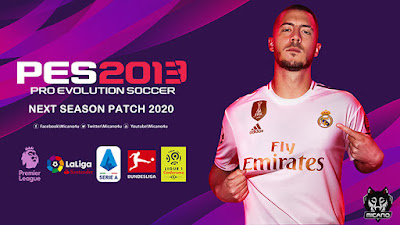 PES 2013 Next Season Patch 2020 Season 2019/2020