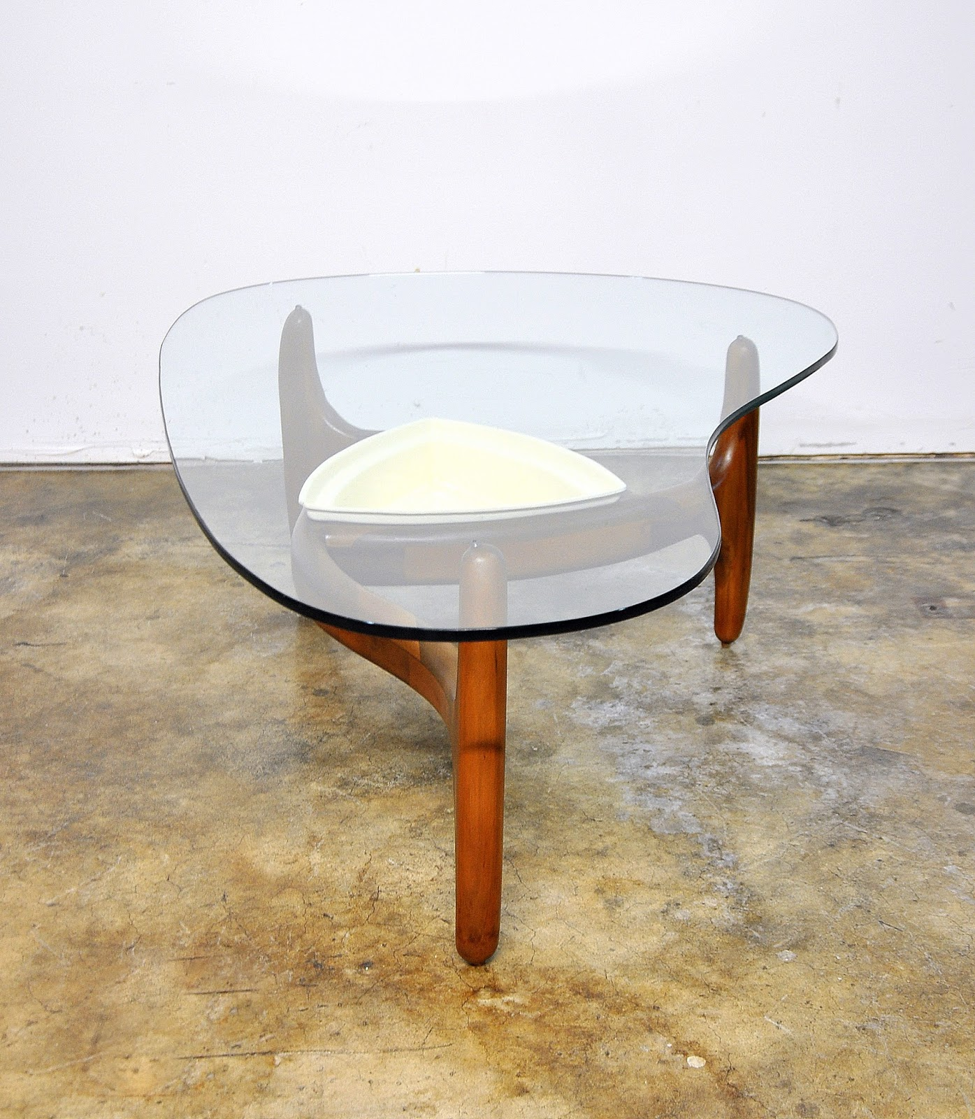 Mid Century Modern Coffee Table With Planter: SELECT MODERN: Adrian Pearsall Kidney Coffee Or Cocktail