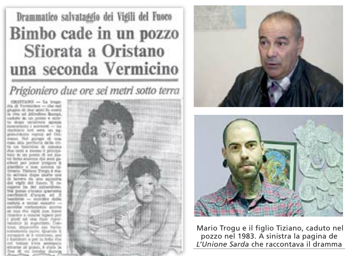 a75563d2046d0 Il dramma è tutto raccontato in quella foto scattata al San Martino da  Romolo Concas  un bambino di due anni con le guance insanguinate e lo  sguardo ...