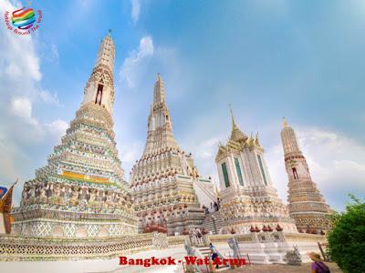 Bangkok - Wat Arun Temple